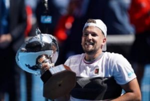 Five-time Australian Open winner Dylan Alcott OAM.