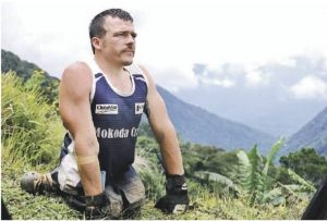 Three-time Paralympic gold medallist, two-time Commonwealth Games gold medallist and thirty-time marathon winner Kurt Fearnley AO, also conquered the 96-kilomitre Kokoda trail!