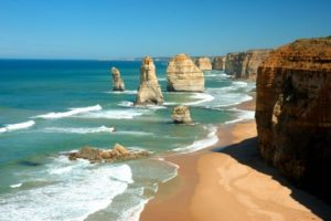 Great Ocean Road has plenty of accessible look out spots and parking on the way to the 12 Apostles.