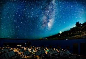Sit under the Stars at Scienceworks' Planetarium in Spotswood.